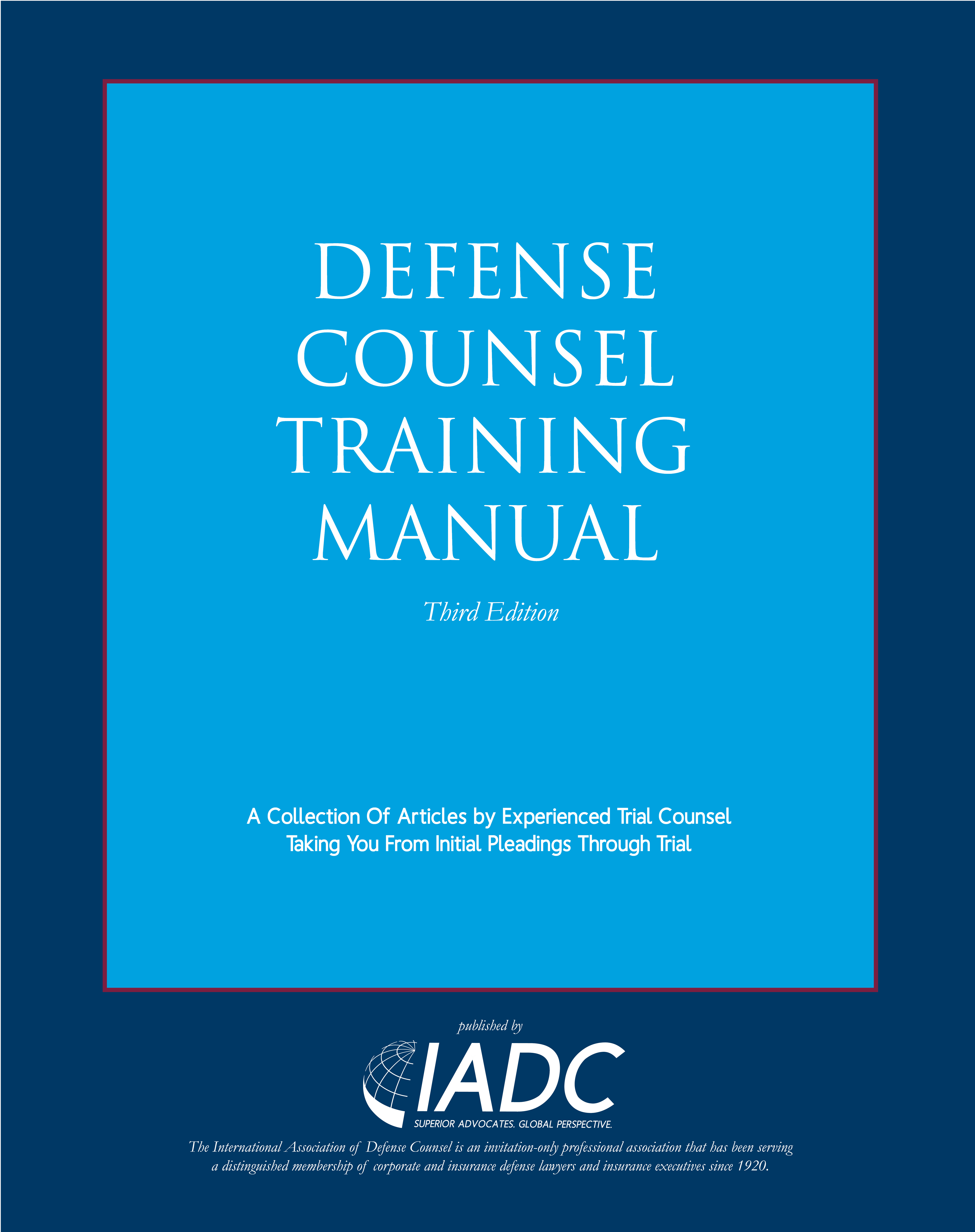 Defense Counsel Training Manual